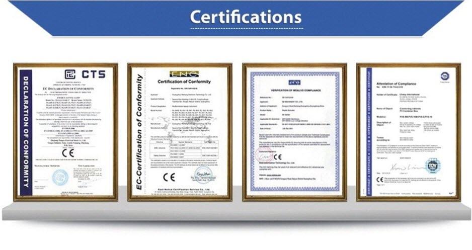 Сертификати мултифункционален лазерен апарат BL- CruiserMk II
