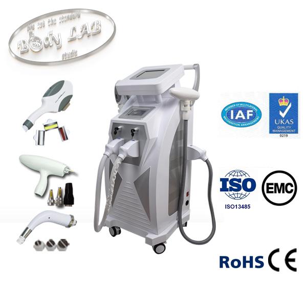 Мултифункционален лазерен апарат за фотоепилация