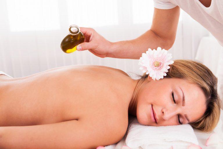 Арома масаж