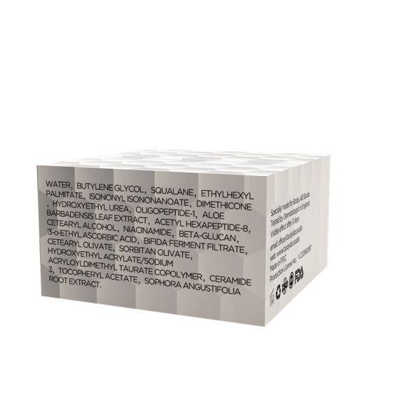 Подмладяващ крем за лице BL-F Renew опаковка отзад