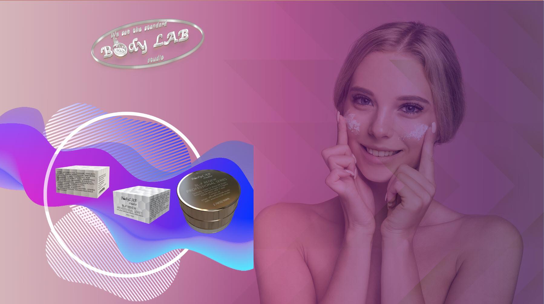 Подмладяващ крем за лице BL FACE RENEW от BodyLAB Studio
