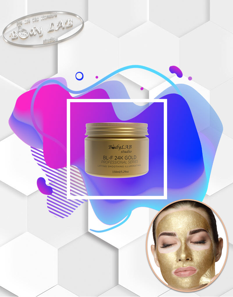 Златната маска за лице BL FACE GOLD 24K