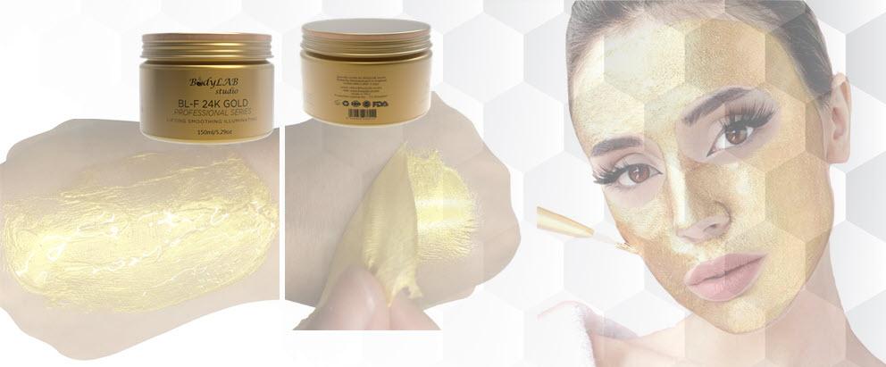 Златна маска за лице от BodyLAB Studio